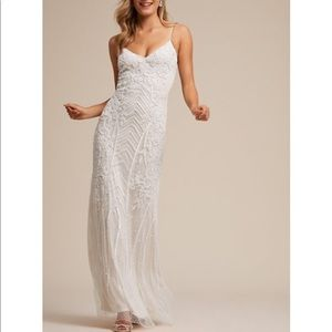 BHLDN Shaylin Beaded Dress by Adrianna Papell